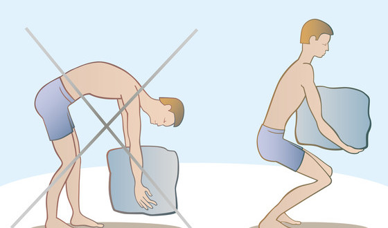 b6aef9f96a Lift with your legs, not with your back to avoid injury. But is the age old  advice actually true?