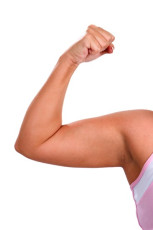 Chubby Biceps Woman