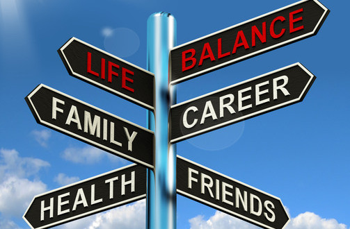 photodune-2334229-life-balance-signpost-shows-family-career-health-and-friends-xs