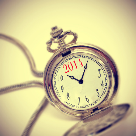 2014 in a pocket watch