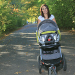 Workout with Baby -three ways new mom's can work out while holding their little ones