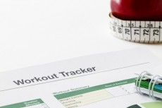 Workout tracker printout