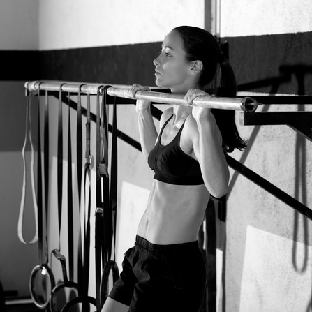 Pull Ups 2 Bars Workout