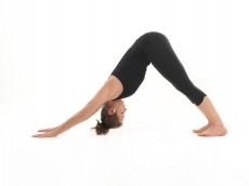 stretching yoga posture