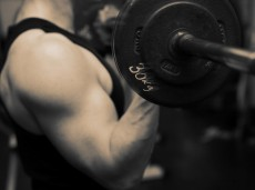 training barbell gym strength