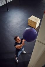 Wall ball training