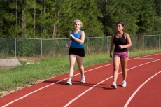 Track Power Walking
