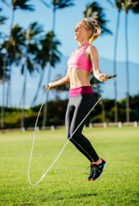 Women Exercising Jumping Rope