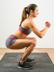 Isometric squat