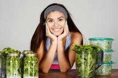 Athlete Preparing Meals