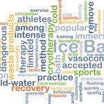 Purpose of an ice bath vs ice wrap after exercise
