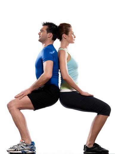 workout posture