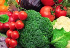 vegetables background