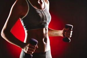 Sweating during workout