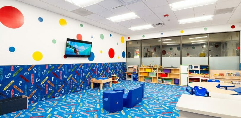 Chatsworth fitness 19 gyms for Fitness 19 kids room